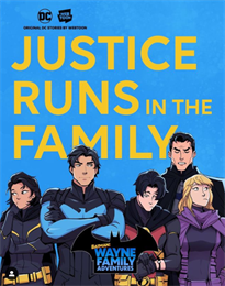 네이버웹툰xDC코믹스, 첫 시작은 '웨인 가족'